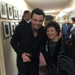 New Year's Eve 2014 after performance with Seth McFarlane